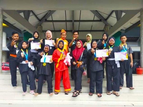Rebut 4 Emas Kejuaraan Lampung International Championship 5