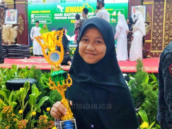 Bawa Trophy, Juara 1 Baca Puisi Tingkat Provinsi